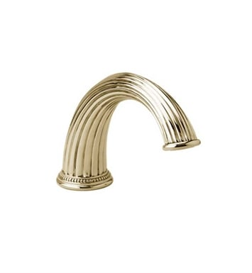 Phylrich K5141-004 Deck Tub Spout With Finish: Satin Brass