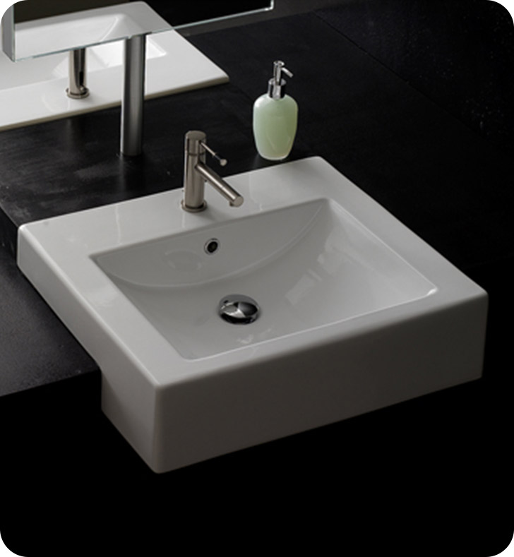 Nameeks 8025-D Scarabeo Bathroom Sink