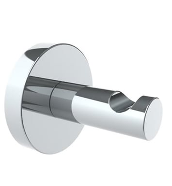 Watermark 31-0.5-SC Brooklyn Robe Hook With Finish: Satin Chrome <strong>(USUALLY SHIPS IN 8-9 WEEKS)</strong>