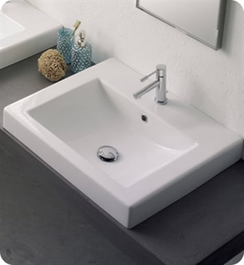 Nameeks 8025-A Scarabeo Bathroom Sink