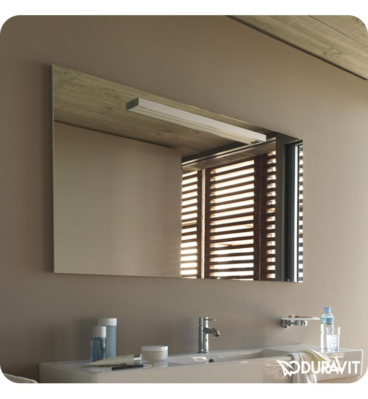 Duravit FO9680 Fogo Bathroom Mirror with Lighting