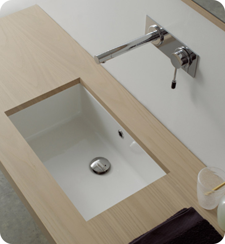 Nameeks 8092 Scarabeo Bathroom Sink