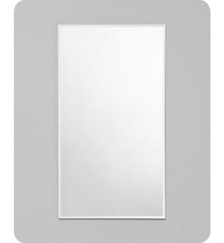 "Robern RC2036D4FB1 R3 Series 20"" x 36"" Medicine Cabinet with Wide Flat Door With Style and Color: Beveled Edge Mirrored Door"