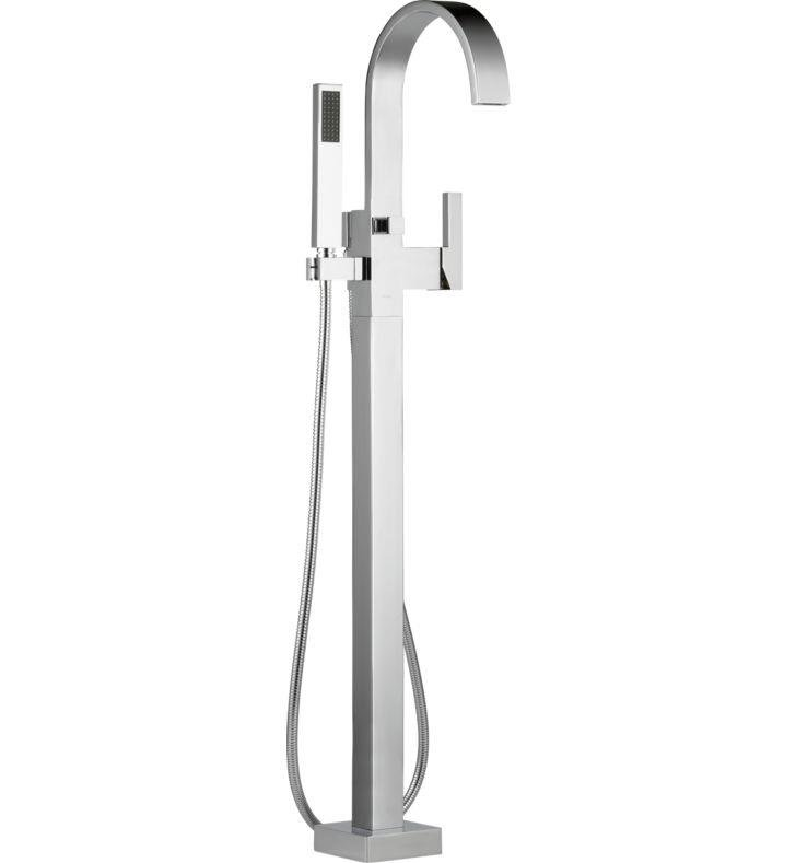 Brizo T70180-BN Siderna Single-Handle Freestanding Tub Filler With Finish: Brushed Nickel