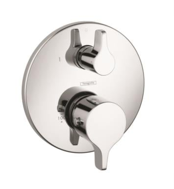 "Hansgrohe 04353000 Ecostat S/E 6 3/4"" Thermostatic Trim with Volume Control and Diverter With Finish: Chrome"