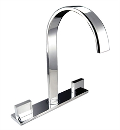 Fresca FFT3801CH Sesia Centerset Mount Bathroom Faucet in Chrome