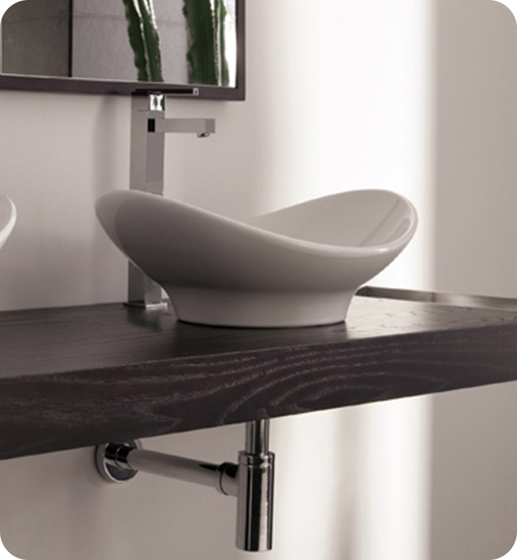 Nameeks 8207 Scarabeo Bathroom Sink