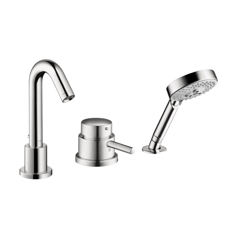 Hansgrohe 04127 Talis S 3 Hole Thermostatic Tub Filler Trim