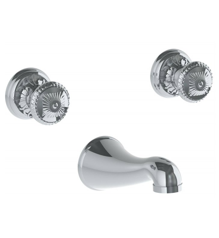Watermark 150-5TO-AZ1-PT Azahar Wall Mounted Faucet With Finish: Pewter <strong>(USUALLY SHIPS IN 8-9 WEEKS)</strong>