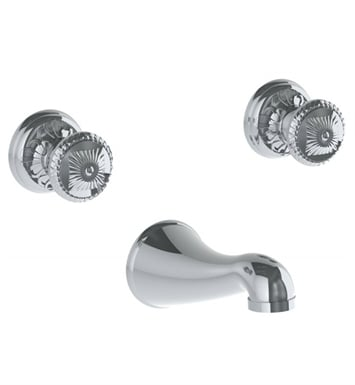 Watermark 150-5TO-AZ1-SN Azahar Wall Mounted Faucet With Finish: Satin Nickel <strong>(USUALLY SHIPS IN 6-7 WEEKS)</strong>