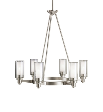 Kichler 2344OZ Circolo Collection Chandelier 6 Light With Finish: Olde Bronze