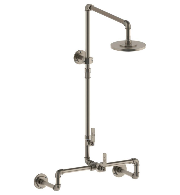 Watermark 38-6.1THRM-EV4 Elan Vital Thermostatic Exposed Wall Shower ...