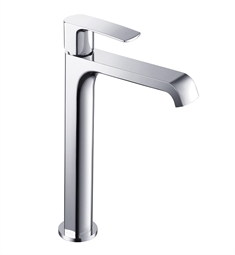 Fresca FFT3902CH Tusciano Single Hole Vessel Mount Bathroom Faucet in Chrome