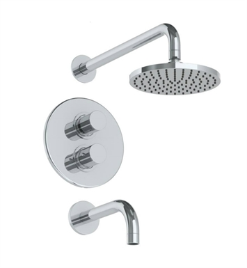 Watermark 22-3.6TO Titanium Thermostatic Shower Set