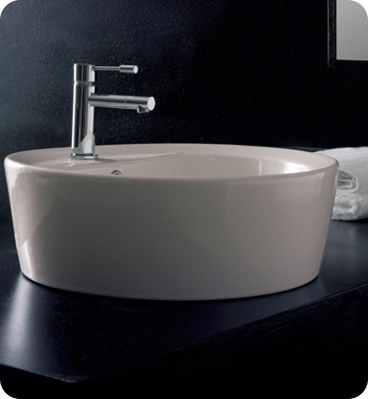 Nameeks 8055-A-R Scarabeo Bathroom Sink