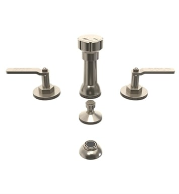 Watermark 38-4-EV4-ORB Elan Vital Four Hole Bidet Faucet With Finish: Oil Rubbed Bronze <strong>(USUALLY SHIPS IN 8-9 WEEKS)</strong>