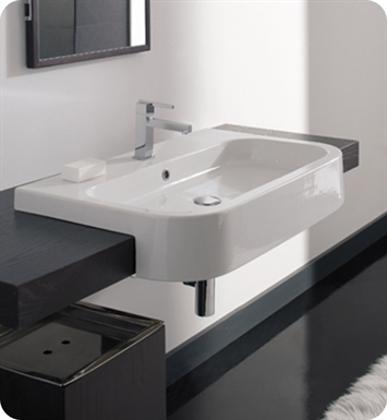 Nameeks 8047-D-80 Scarabeo Bathroom Sink