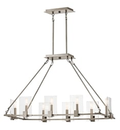 Kichler 43703CLP Signata 8 Light Linear Chandelier