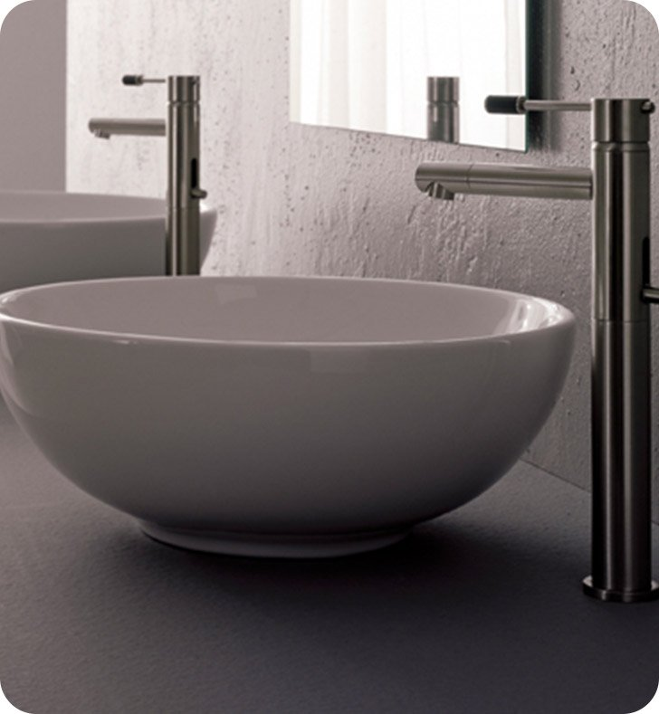 Nameeks 8009 Scarabeo Bathroom Sink