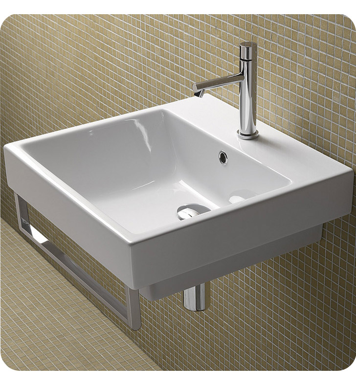 Catalano 15QZE00 Zero 50 Single Sink Washbasin