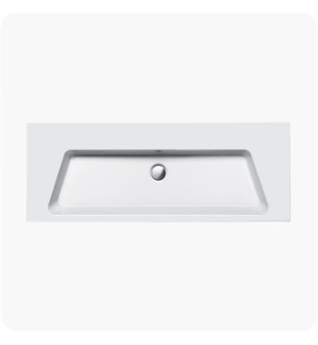Catalano 1125PR00-2 Proiezioni 125 Single Washbasin With Faucet Holes: Two Holes