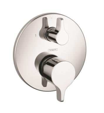 "Hansgrohe 04448820 Ecostat S/E 6 3/4"" Pressure Balance Trim with Diverter With Finish: Brushed Nickel"