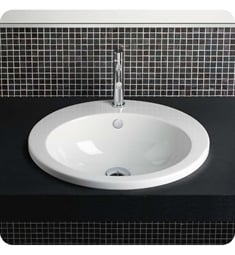 Catalano 1INZE00 Incasso 57 Countertop Washbasin