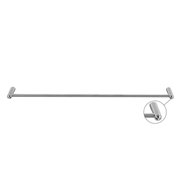 "Cool Lines CSP102/24 Crystal Steel 24"" Towel Bar in Polished Stainless Steel"