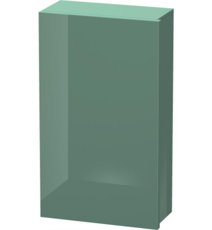 "Duravit DL1288 Delos 9 7/8"" Wall Mount Semi-Tall Linen Cabinet with Two Glass Shelves"