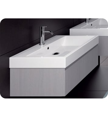 Catalano ZO0751DR-P30 Zero 75 Vanity Base Cabinet with One Drawer With Finish: Bianco Alaska (Soft-Touch Laminate)