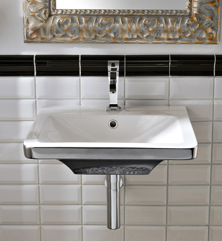 Nameeks 4003 Scarabeo Bathroom Sink