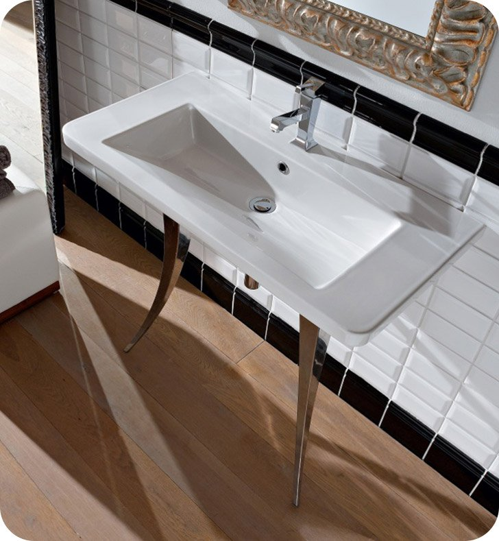 Nameeks 4005 Scarabeo Bathroom Sink