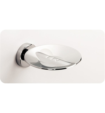 SONIA 48250026 Tecno Project Metal Soap Dish in Chrome