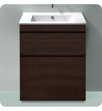 Catalano ST0802SDR-P02 Star 80 Vanity Base Cabinet with Two Drawers With Finish: Grey Velvet (Pattern Laminate)