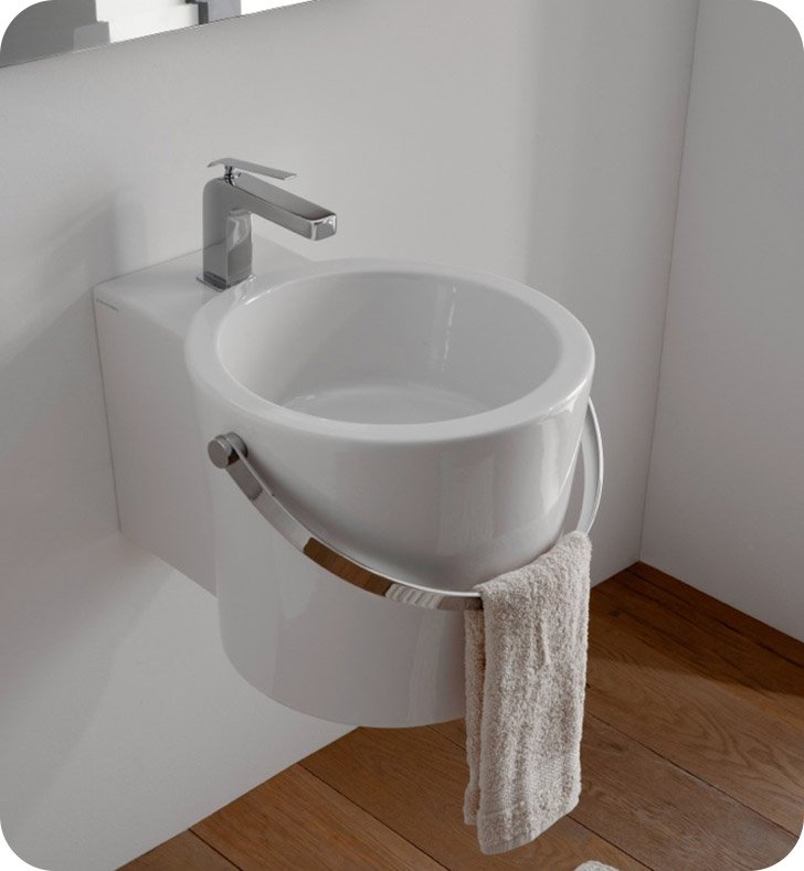 Nameeks 8804 Scarabeo Bathroom Sink