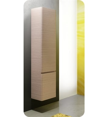 Catalano SF0352DOR-V03 Sfera Tall 35 Wall Cabinet With Cabinet Hinge: Right Side Hinge And Finish: Grey Oak Lati (Wood Veneer)