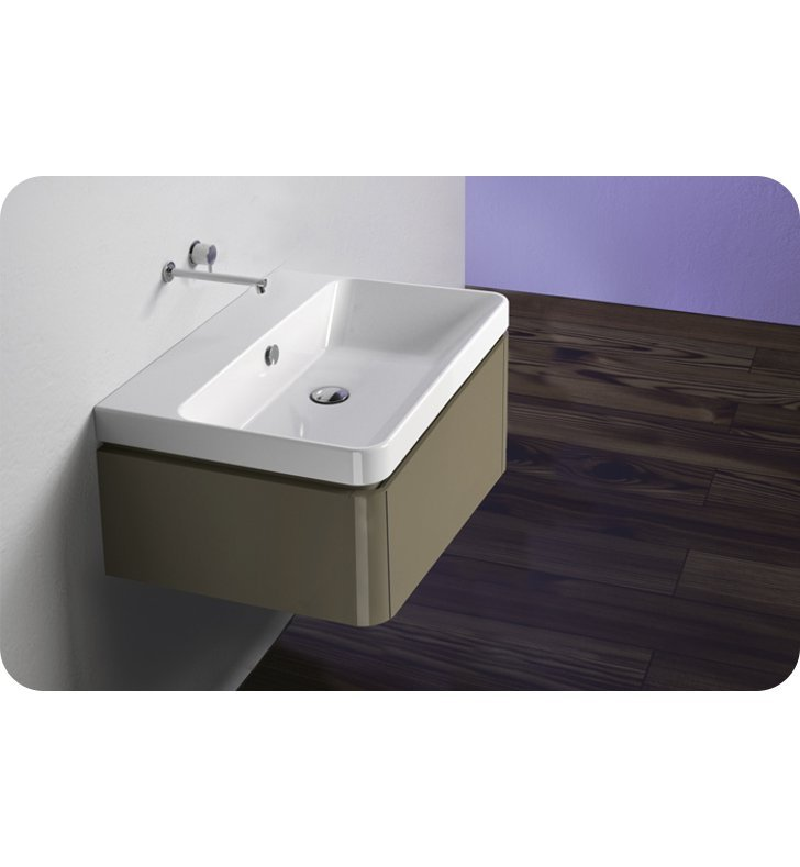 Catalano PR0421DR-H02 Proiezioni 42 Vanity Base Cabinet With Finish: Ivory (High Gloss)