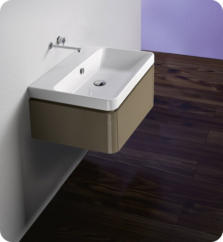 Catalano PR042S1DR-H02 Proiezioni 42x32 Vanity Base Cabinet With Finish: Ivory (High Gloss)