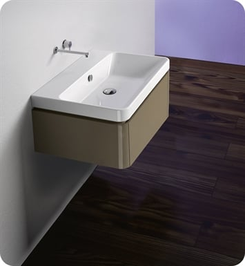 Catalano PR042S1DR-P05 Proiezioni 42x32 Vanity Base Cabinet With Finish: Silver Oak Natural (Wood Grain Laminate)