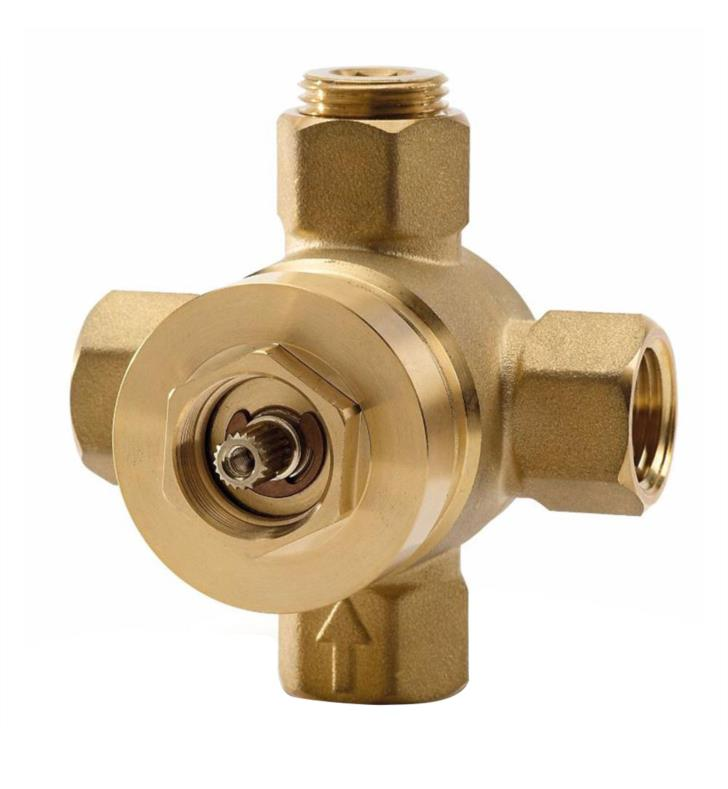 "TOTO TSMV 3 1/4"" Two-Way Diverter Valve with Shut-Off"