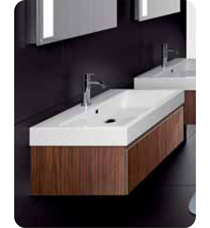 Catalano PM0601DR-V02 Premium 60 Vanity Base Cabinet with One Drawer With Finish: Zebra (Wood Veneer)