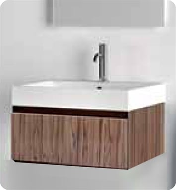 Catalano PM0501DR-P06 Premium 50 Vanity Base Cabinet with One Drawer With Finish: Grey Oak Cross Curve (Wood Grain Laminate)