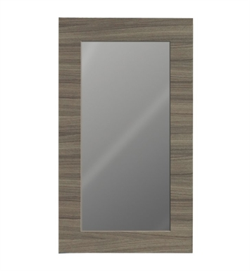"Catalano WM062-07 23"" x 36"" New Light Framed Wall Mirror With Finish: Canyon"