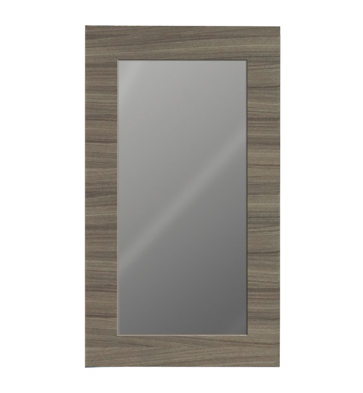"Catalano WM100-02 38"" x 36"" New Light Framed Wall Mirror With Finish: Gloss White"