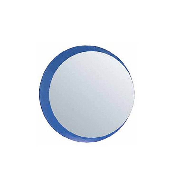 Catalano 5WM32-V10 Impronta Framed Round Mirror With Finish: Silver Ash (Wood Veneer)