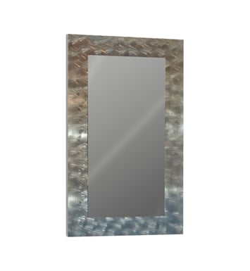 "Catalano 5WM100100-V08 39"" x 39"" Framed Wall Mirror With Finish: Ash Lati (Wood Veneer)"