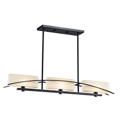 Kichler 42017 Suspension Collection Chandelier Linear 3 Light Halogen