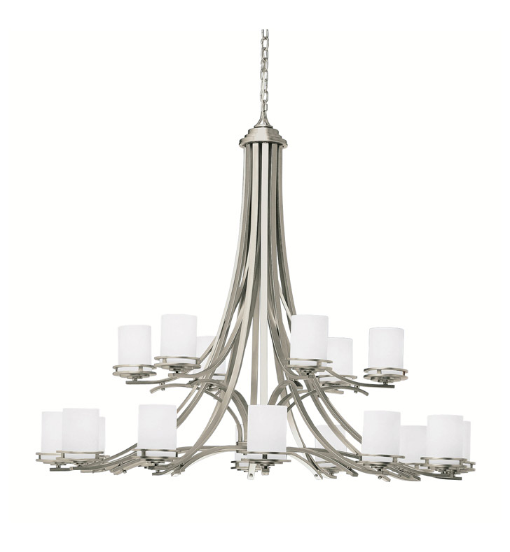 Kichler 1873OZ Hendrik Collection Chandelier 18 Light With Finish: Olde Bronze