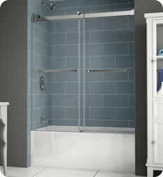 Fleurco NPT60 Gemini Plus Frameless Bypass Sliding Tub Doors