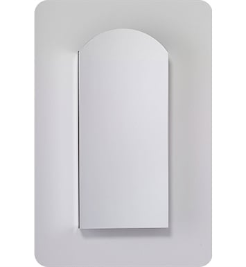 "Robern MC1630D4ABRE4 M Series 15 1/4"" Wide x 4"" Deep Customizable Arched Cabinet With Cabinet Hinge: Right And Mirror Type / Lens: Beveled And Electrical / Lighting / Audio Option: Electrical outlet with Interior Light, Night Light & Defogger"